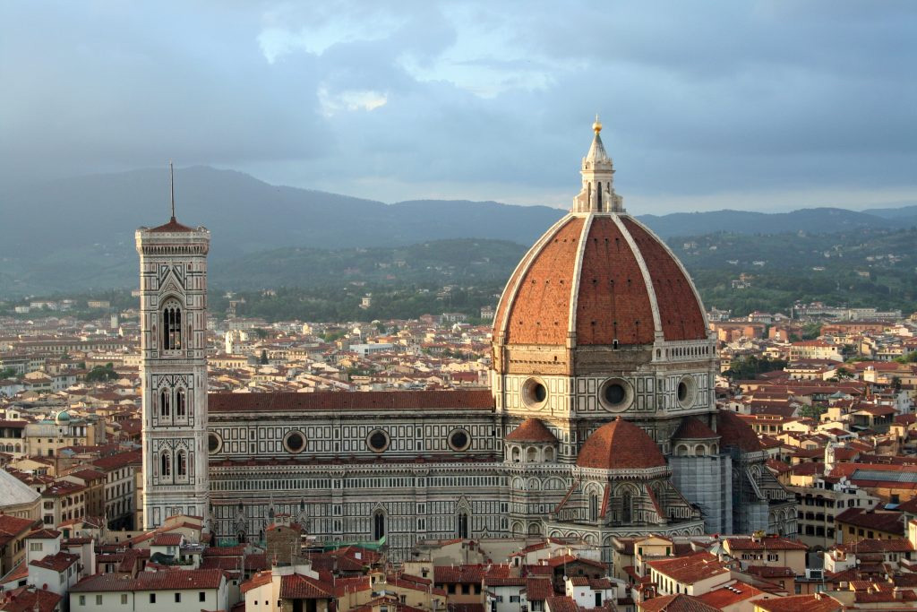 Florence: Santa Maria del Fiore with Brunelleschi's Dome and Giotto's Bell Tower