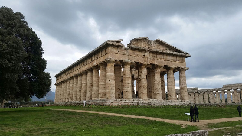 The Greek Temples of Paestum